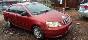 Toyota Corolla 2003 Sedan Red | Cars for sale in Oyo State, Oluyole