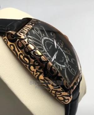 High Quality FRANCK MULLER Leather Watch for Men   Watches for sale in Lagos State, Magodo