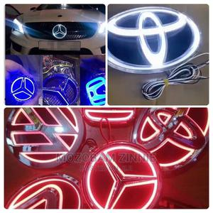 Customized Logo LED Light   Vehicle Parts & Accessories for sale in Lagos State, Ojo