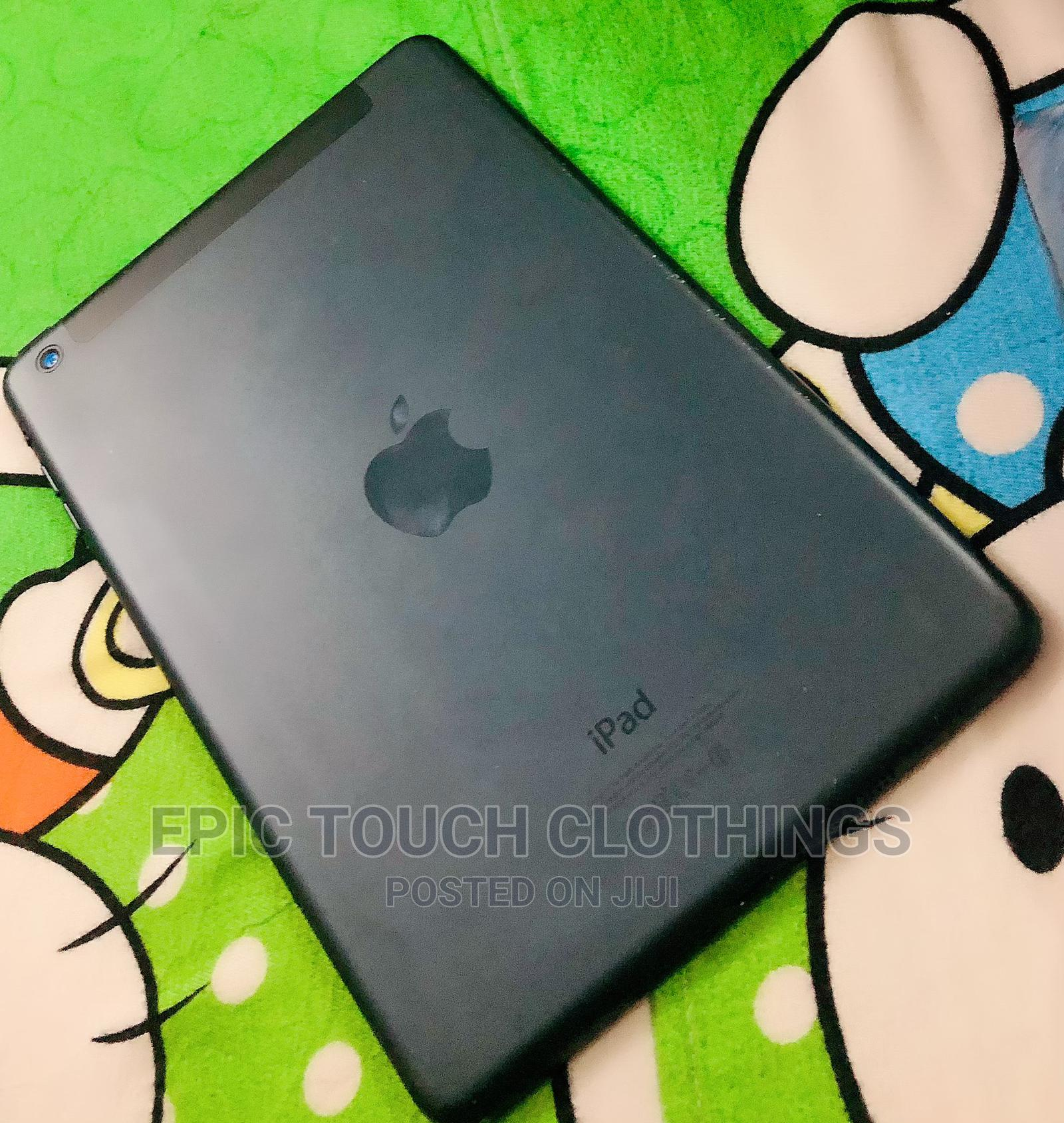 Apple iPad mini Wi-Fi + Cellular 64 GB Gray   Tablets for sale in Port-Harcourt, Rivers State, Nigeria