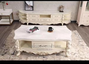 A Set of Center Table With TV Stand   Furniture for sale in Lagos State, Ikeja