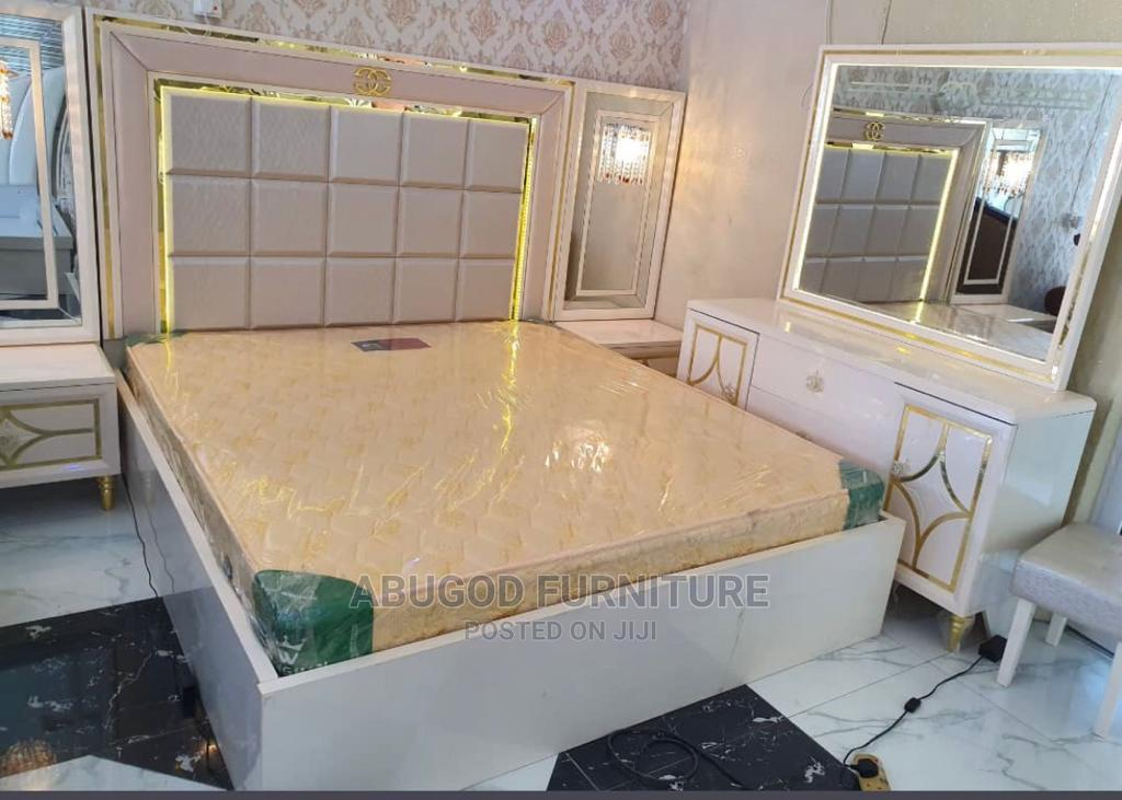 Bedframe With Cabinet