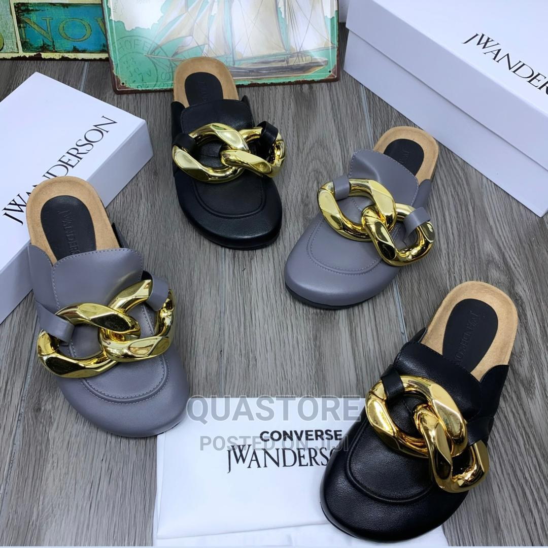 Jw Anderson Leather Curb Chain Loafers | Shoes for sale in Lagos Island (Eko), Lagos State, Nigeria