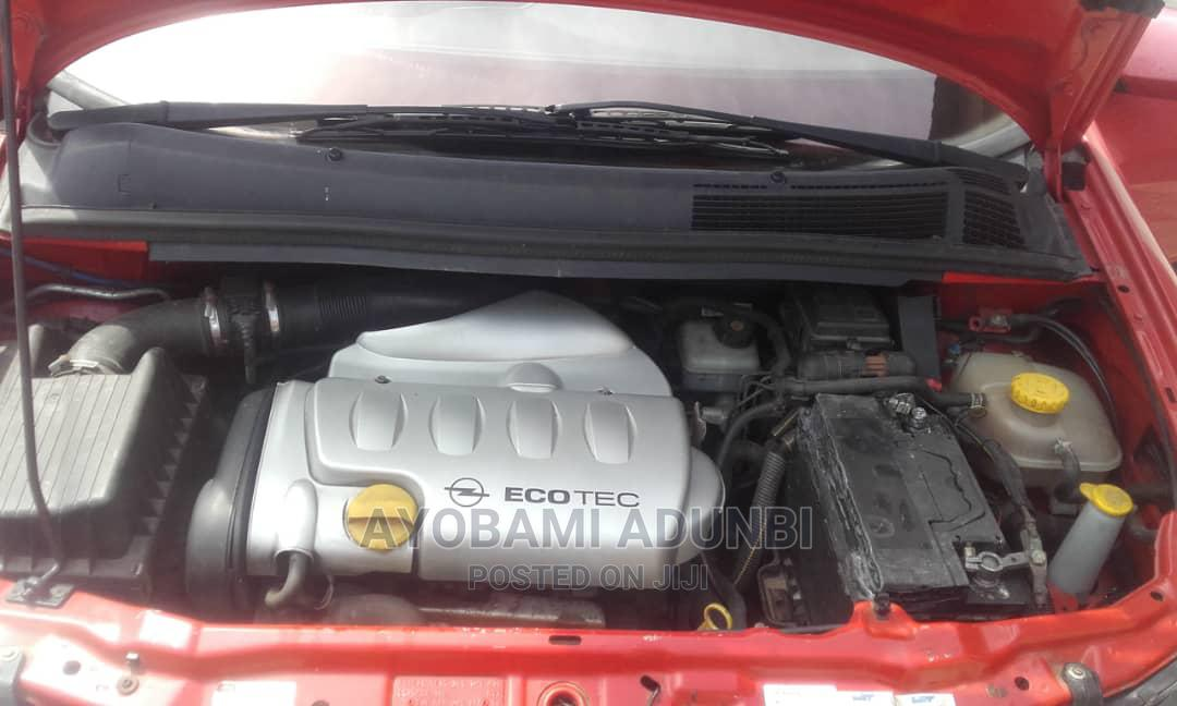 Opel Zafira 2002 Red   Cars for sale in Surulere, Lagos State, Nigeria