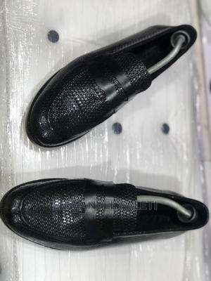 Basket Leather Loafers With Penny | Shoes for sale in Lagos State, Mushin