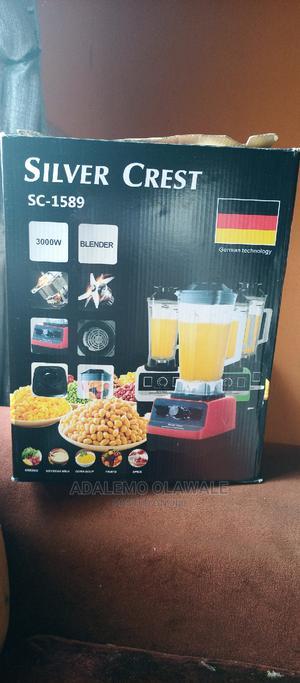 Silver Crest Heavy Duty Blenders   Kitchen Appliances for sale in Lagos State, Ojodu