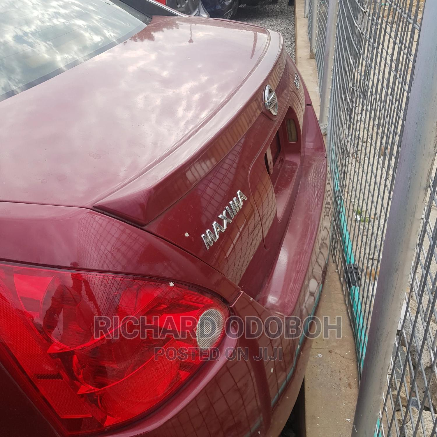 Archive: Nissan Maxima 2006 Red
