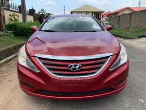 Hyundai Sonata 2014 Red | Cars for sale in Lagos State, Agege