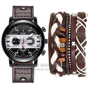 Men Wristwatch With Bracelet | Watches for sale in Lagos State, Ojota