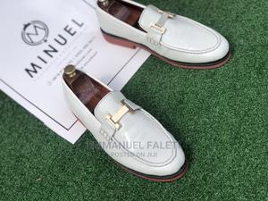 White Loafers With Red Sole   Shoes for sale in Lagos State, Mushin