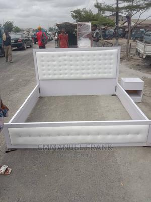 Padded 6*6 Bed Frame | Furniture for sale in Lagos State, Oshodi