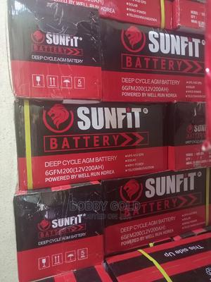 200ah/12v Sunfit Battery   Solar Energy for sale in Lagos State, Ojo