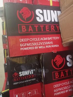 150ah/12v Sunfit Battery   Solar Energy for sale in Lagos State, Ojo