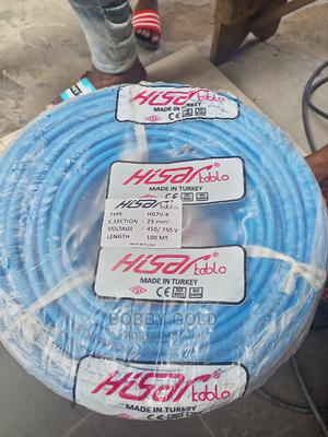 25mm Battery Cable Single Flex | Electrical Equipment for sale in Lagos State, Ojo