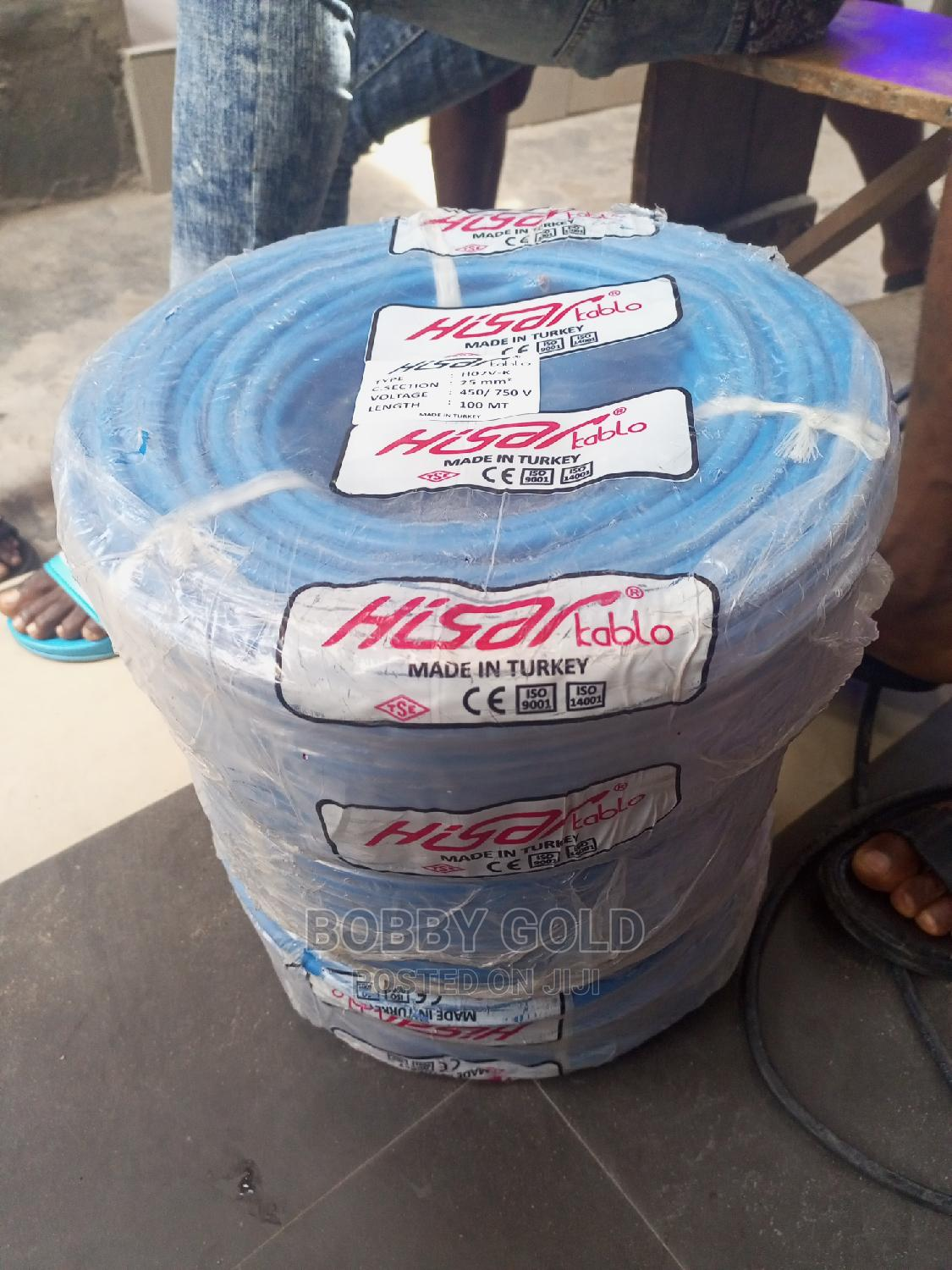 25mm Battery Cable Single Flex | Electrical Equipment for sale in Ojo, Lagos State, Nigeria