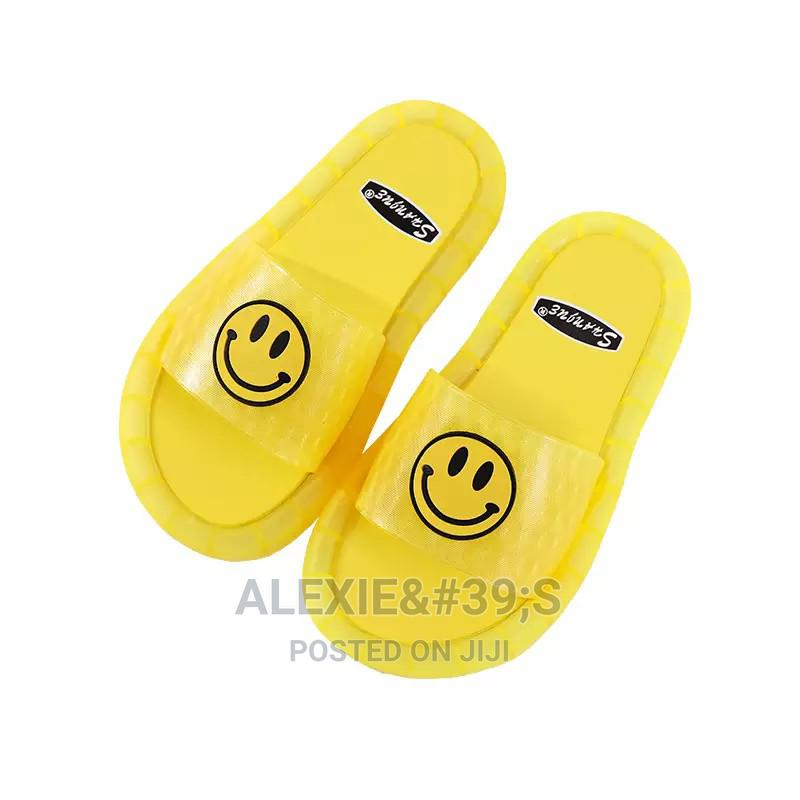 Kiddies Yellow Slippers With Neon Lights  | Children's Shoes for sale in Kubwa, Abuja (FCT) State, Nigeria