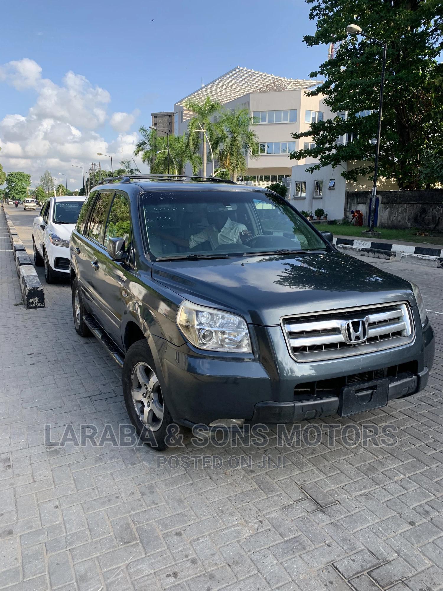 Honda Pilot 2007 EX 4x2 (3.5L 6cyl 5A) Green | Cars for sale in Ikoyi, Lagos State, Nigeria