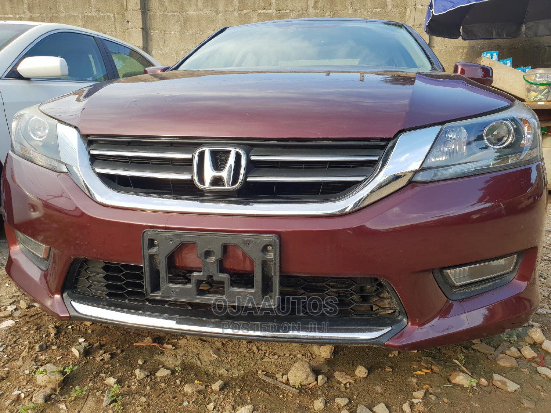 Honda Accord 2013 Red