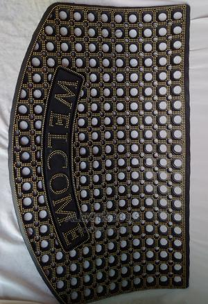 """Rubber """"Welcome"""" Door/Foot Mat 