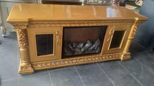 High Quality Executive Portable Fireplace Tv Stand   Furniture for sale in Lagos State, Ikoyi