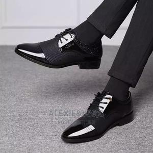 Men's Luxury Oxford Formal Shoes - Black - Size 48   Shoes for sale in Abuja (FCT) State, Kubwa