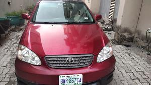 Toyota Corolla 2005 S Red   Cars for sale in Lagos State, Lekki