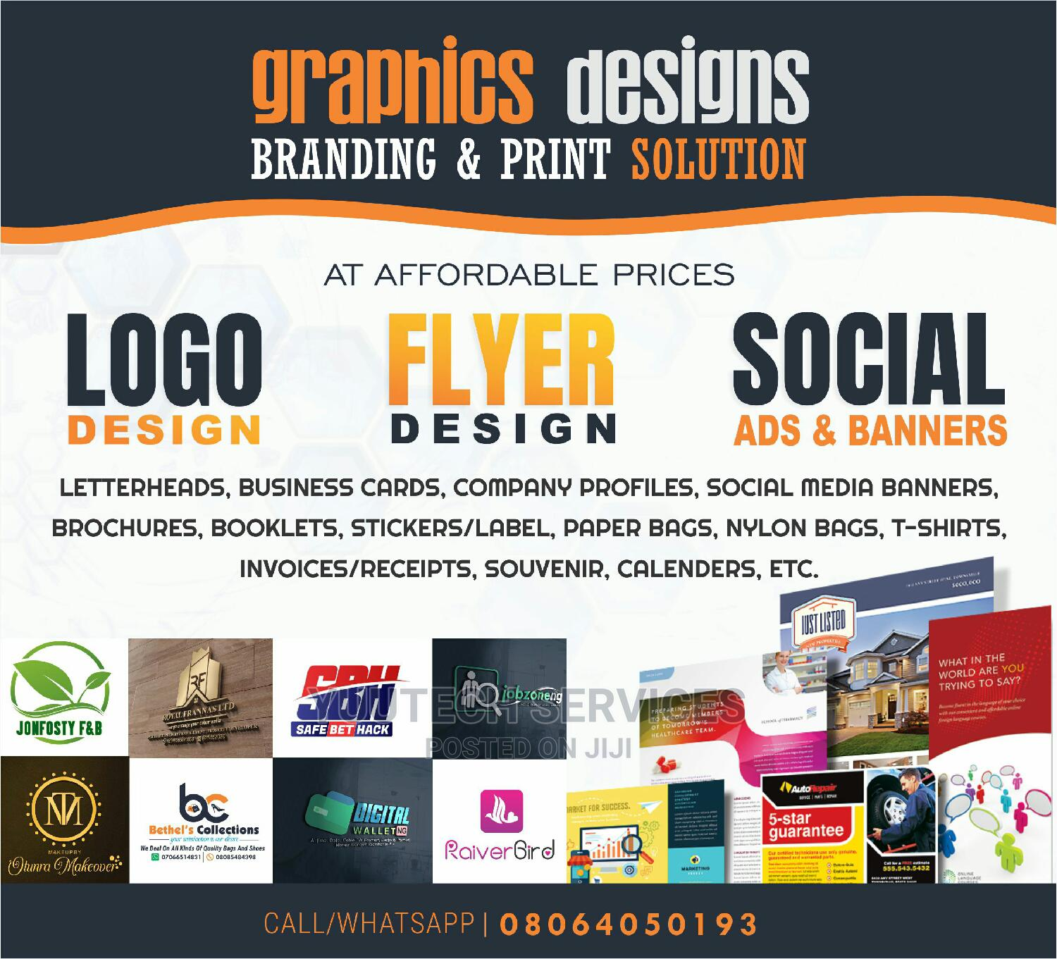 Logos and Graphics Design Services