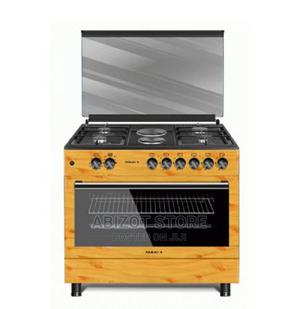 MAXI Gas Cooker 60*90 (4 + 2 ) WOOD | Kitchen Appliances for sale in Lagos State, Ikeja