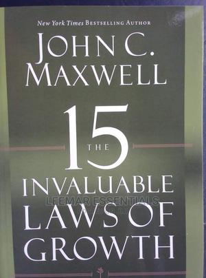 15 Invaluable Laws Od Growth   Books & Games for sale in Lagos State, Surulere