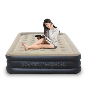Comfort Plush Airbed With Internal Electric Pump Bed | Medical Supplies & Equipment for sale in Abuja (FCT) State, Gwarinpa