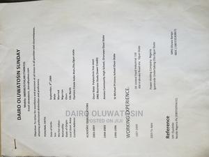 Farming Veterinary CV | Manufacturing CVs for sale in Ogun State, Ado-Odo/Ota