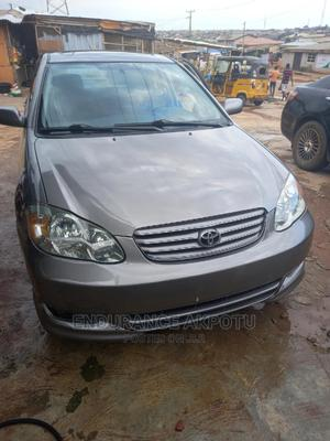 Toyota Corolla 2003 Sedan Automatic Gray   Cars for sale in Lagos State, Ogba