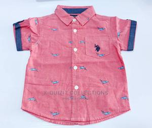 US Polo Assn. Boys Quality Shirt   Children's Clothing for sale in Lagos State, Surulere