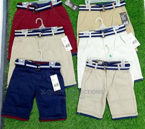 H M Boys Short With Belt | Children's Clothing for sale in Lagos State, Surulere