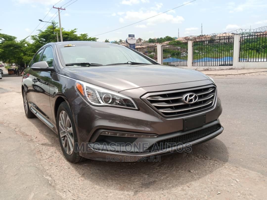 Hyundai Sonata 2016 Gray