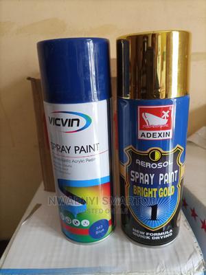 Black Spray Paint | Building Materials for sale in Lagos State, Lagos Island (Eko)