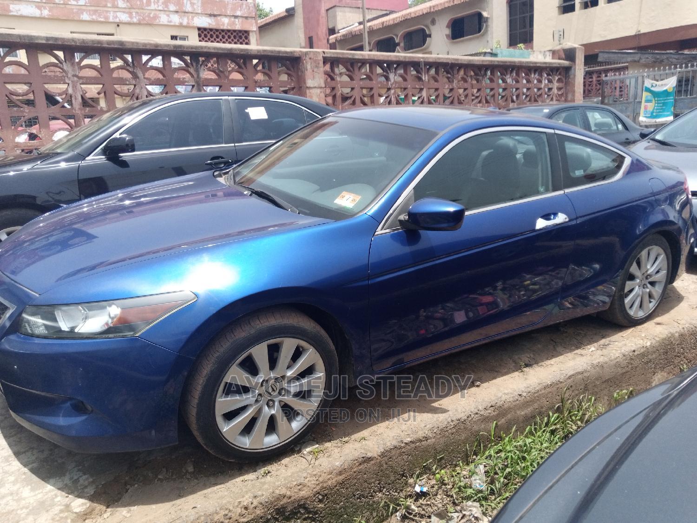 Honda Accord 2008 2.0 Comfort Blue | Cars for sale in Ibadan, Oyo State, Nigeria