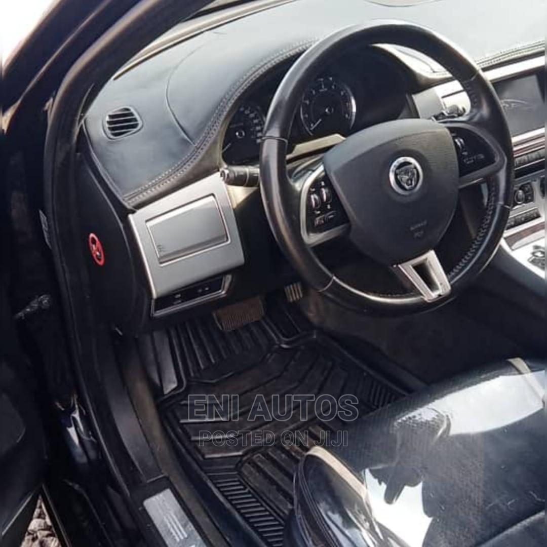 Jaguar XF 2013 3.0 AWD Black | Cars for sale in Ojodu, Lagos State, Nigeria
