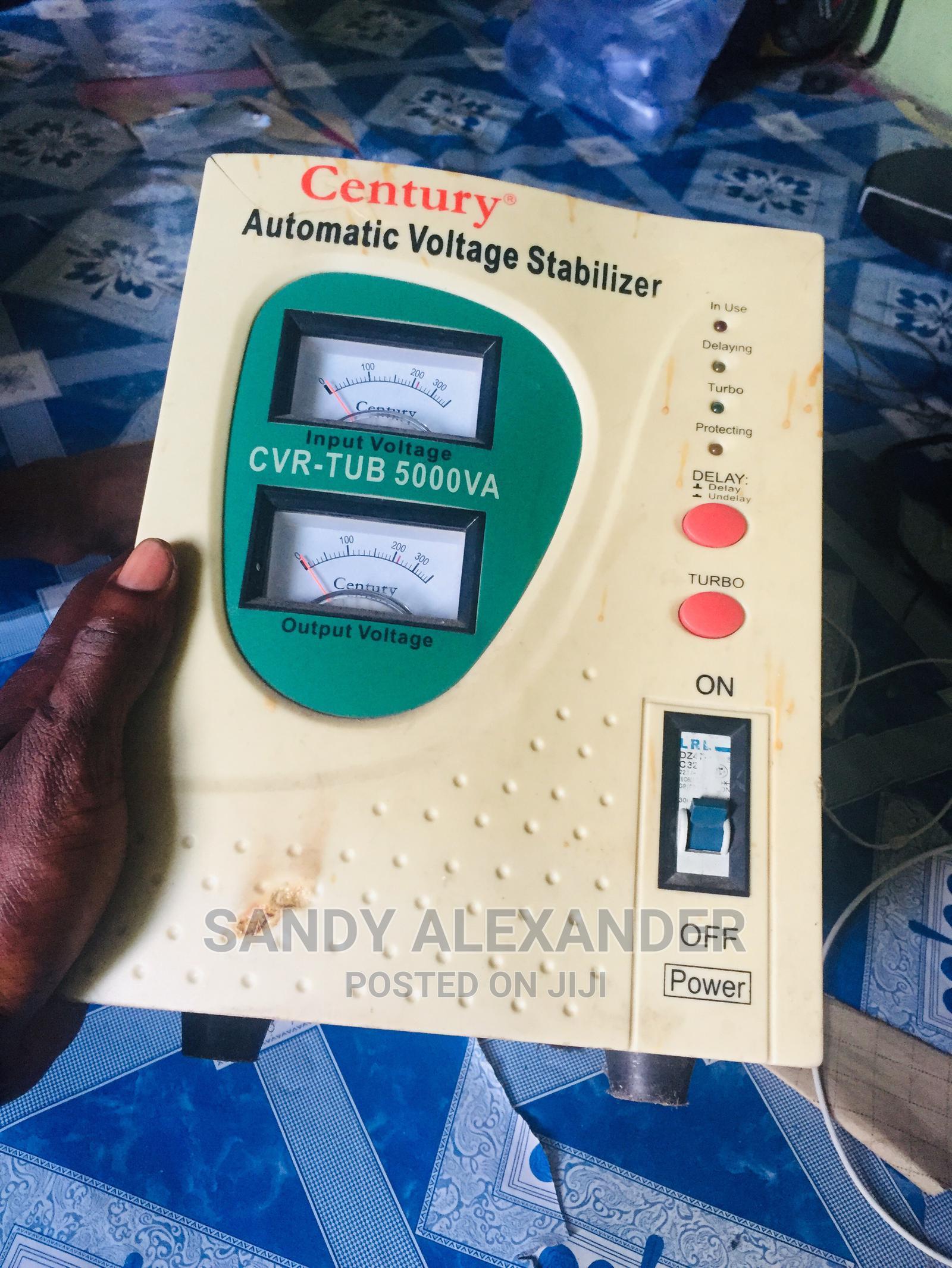 Automatic Voltage Stabilizer( Century), Cvr-Tub 5000va | Electrical Equipment for sale in Ajah, Lagos State, Nigeria