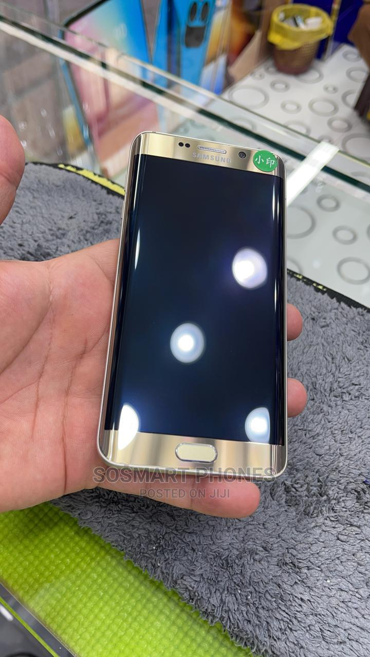 Samsung Galaxy S6 Edge Plus Duos 32 GB Gold   Mobile Phones for sale in Abule Egba, Lagos State, Nigeria
