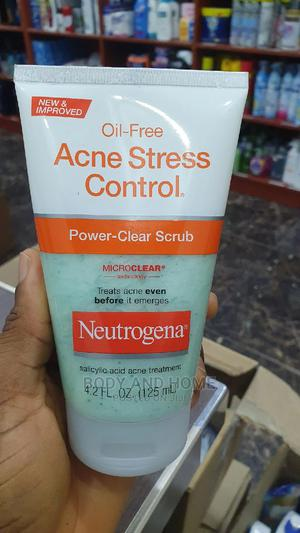 Neutrogena Oil Free Acne Stress Control Power Clear Scrub   Skin Care for sale in Lagos State, Surulere