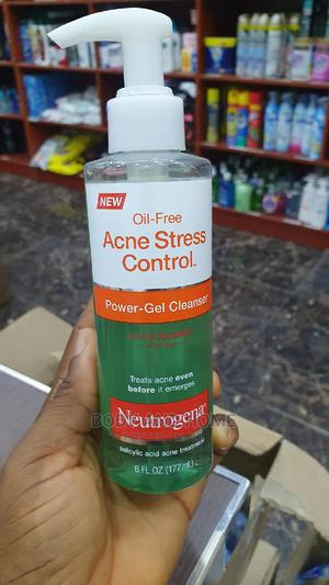 Neutrogena Oil Free Acne Stress Control Power Gel Cleanser   Skin Care for sale in Lagos State, Surulere