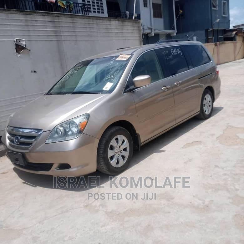 Honda Odyssey 2006 Gold