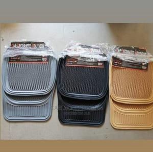 Universal Rubber Floormat - Black, Grey, Cream Colours | Vehicle Parts & Accessories for sale in Lagos State, Ojo