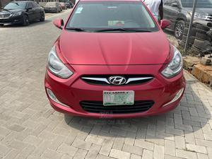Hyundai Accent 2014 Red | Cars for sale in Lagos State, Lekki