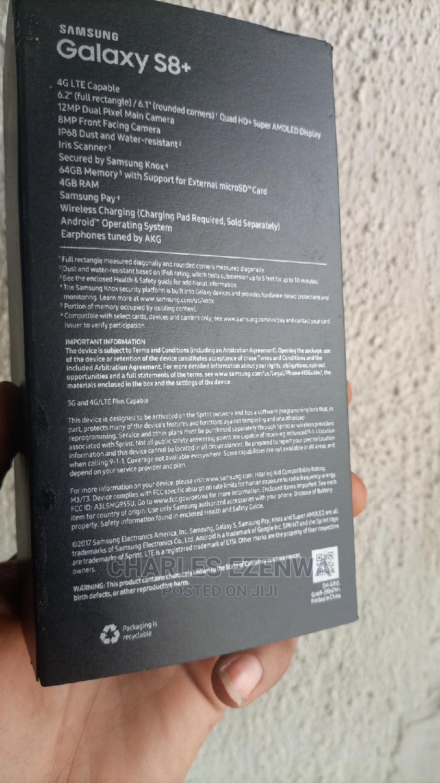 New Samsung Galaxy S8 Plus 64 GB Black   Mobile Phones for sale in Ikeja, Lagos State, Nigeria