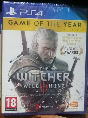 The Witcher 3 Game of the Year Edition (PS4) | Video Games for sale in Lagos State, Lagos Island (Eko)