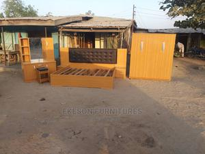 Luxury Home Bed With Wardrobe | Furniture for sale in Lagos State, Ojo