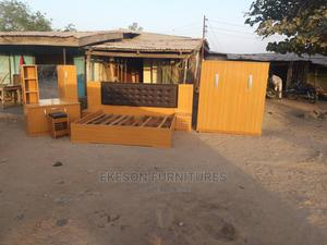 Luxury Home Bed With Mirror and Wardrobe | Furniture for sale in Niger State, Minna