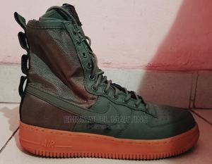 Used Nike Special Field Airforce 1 Olive Green   Shoes for sale in Abia State, Aba North